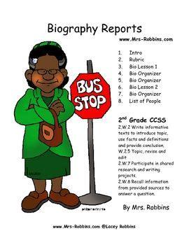 5th grade book report ideas