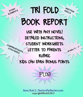 Lefevre, Robin 4th Grade Book Report Ideas